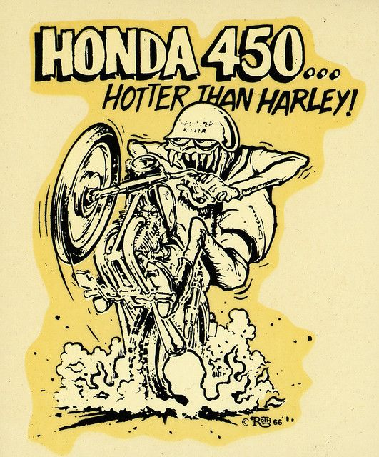 "Ed ""Big Daddy"" Roth Water Slide Decal"