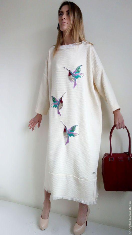 Платья ручной работы. Платье свободного кроя