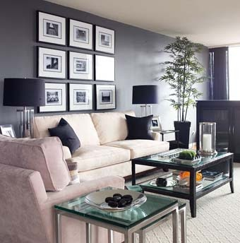 Grey Living Room Navy RoomsGray