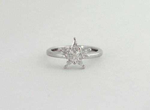 Best 21 Star Shape Rings Images On Pinterest Diamond