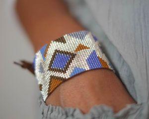 Hand Woven Cuff Bracelet - fashion jewellery