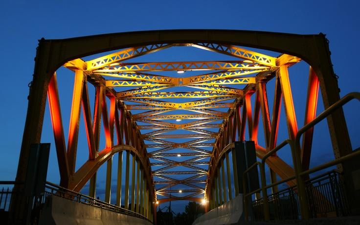 Gdansk Yellow Bridge by Oleg Podberezni, via 500px