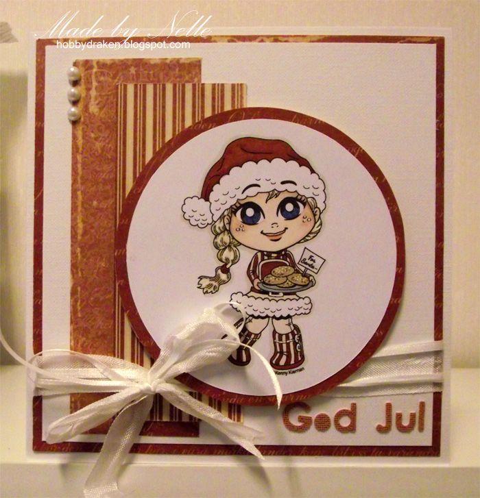 Hobbydraken blogg: Julkort med motiv från Kenny K
