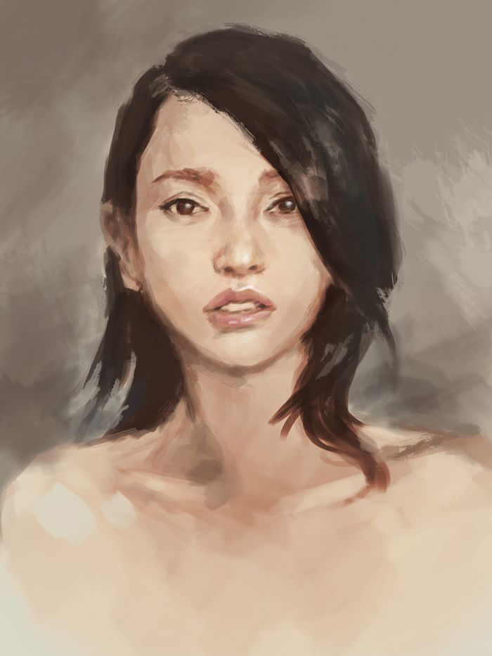 Google Image Result For Http//idrawgirls.com/images/2011Q3/portrait-painting-study-asian-woman ...