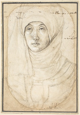Hans Holbein the Elder  Portrait of a Woman [recto], c. 1508.