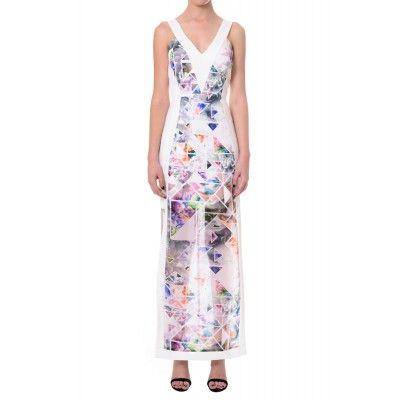 Geo Tropic V-Neck Dress - Geo Tropic V-Neck Dress - Printed - Sale - Brands - Seduce - Dresses - Under $60 - Under $100 - Seduce