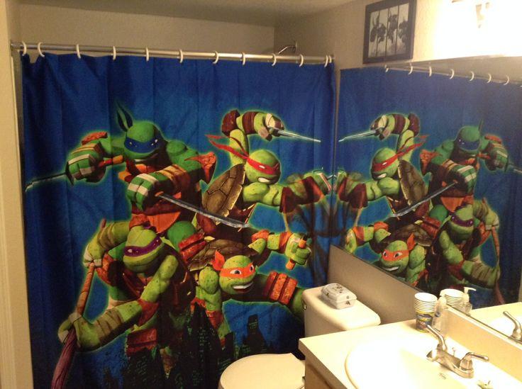 7 best ninja turtle bathroom images on pinterest
