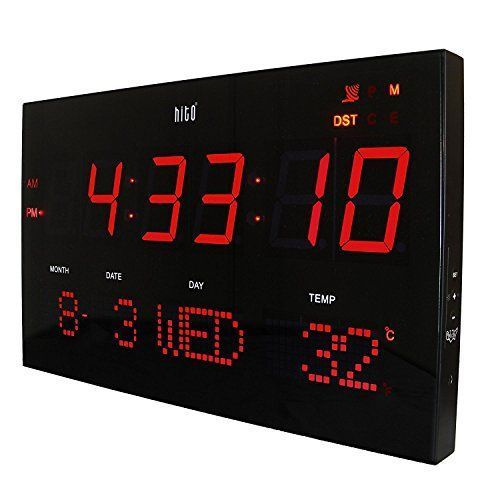 Best 25 led wall clock ideas on pinterest cool digital Cool digital wall clock