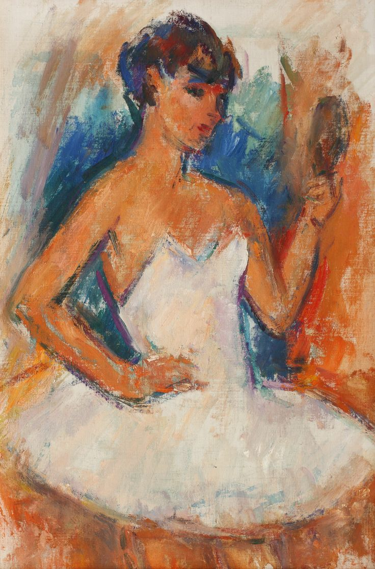 ION MUSCELEANU, Ballerina, http://lavacow.com/current-auctions/contemporary-east-lavacow-auction/ballerina.html