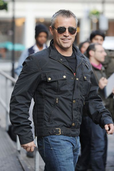 Matt LeBlanc. He looks better with some dazzling gray, I think.