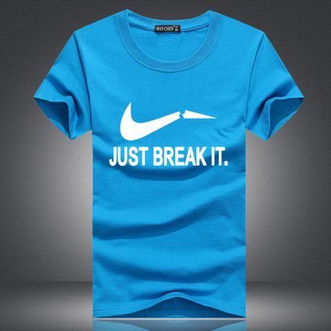 Camiseta Humor ¨Just Break It¨ 8 Cores Tamanhos S a 5XL (P a 5XG)