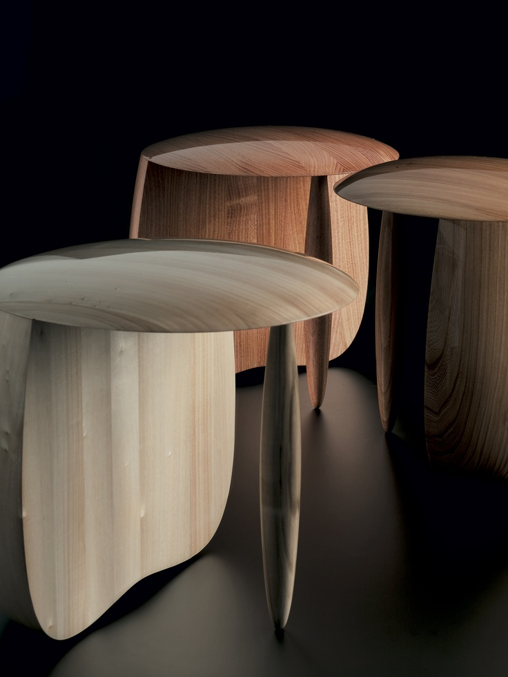 Stool Designed By Aldo Bakker, Produced By Particles Gallery. Photo By Erik  And Petra