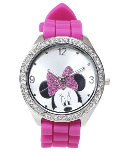 Minnie Mouse Rubber Watch - Jewelry
