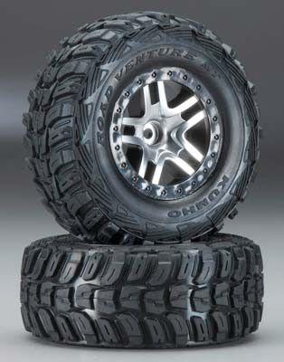 Split Spoke Wheel & Kumho Tire (2): Slash 2WD FR