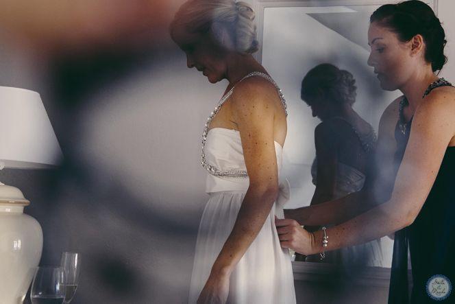 Bridal Preparations   Santorini Wedding by Stella and Moscha - Exclusive Greek Island Weddings   Photo by Nikos P. Gogas