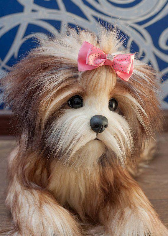 Puppy Sandy Breed Tibetan Terrier Dog Plush Toy Puppy Plush Dog Stuffed Animal Stuffed Toy Tibetan Terrier Terri Dog Stuffed Animal Terrier Dogs Terrier