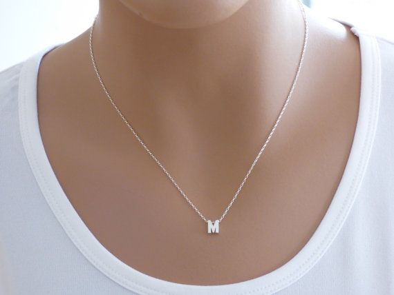 The 25 best sterling silver initial necklace ideas on pinterest 100 sterling silver initial necklace silver initial letter necklace silver necklace initial name necklace dainty necklace aloadofball Gallery