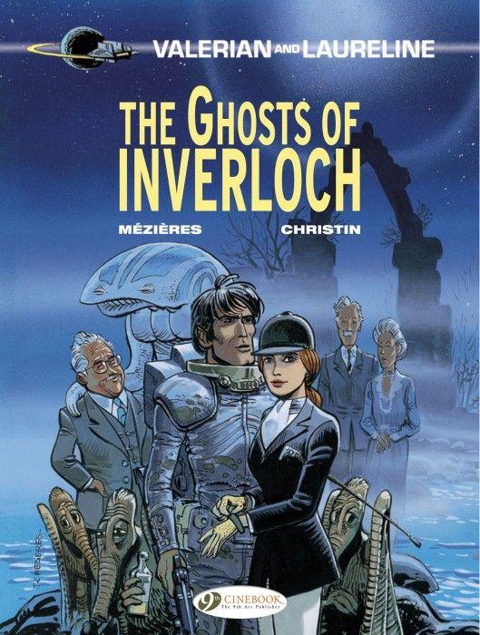 COMIC BITS ONLINE: Cinebook the 9th Art: Valerian and Laureline 11 - ...