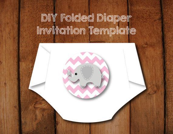 The 25+ best Diaper invitation template ideas on Pinterest ...