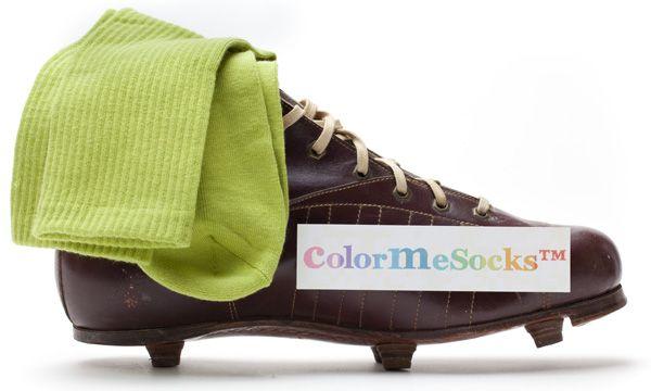 Dark Lime by ColorMeSocks™