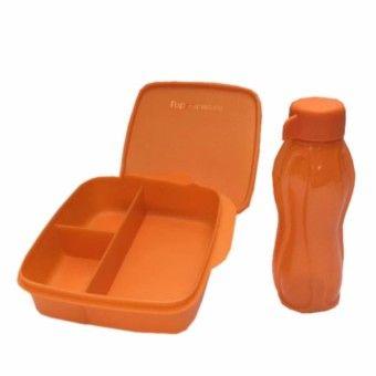 Best Shop Tupperware Lunch Box set Glittery Eco Lolly 2pcs/set OrangeKualitas memuaskan Tupperware Lunch Box set Glittery Eco Lolly 2pcs/set Orange Sebelum TU658HLAABWBWZANID-26741321 Kitchen & Dining Kitchen Storage & Accessories Drink Bottles Tupperware Tupperware Lunch Box set Glittery Eco Lolly 2pcs/set Orange