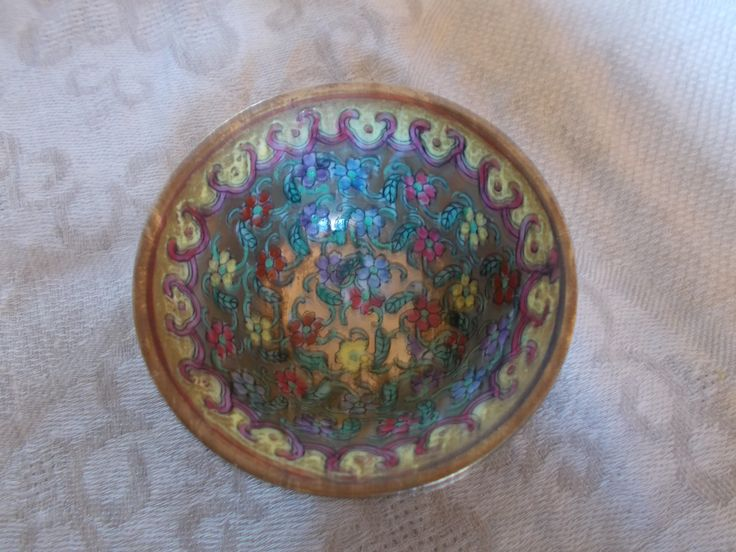 antique handpainted japanese bowl by mademeathens #vintage