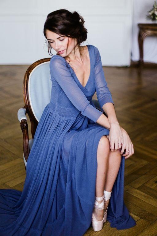 Amandine Ropars photographe - Shooting inspiration mariage en bleu - #wedding #blue #dress #dance #ballerina #inspiration #editorial #mariage #bleu
