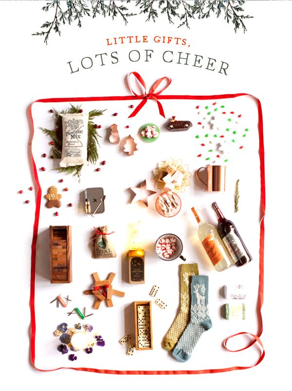 Tiny gifts to fill stockings with cheer at terrain.