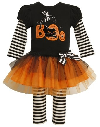 Amazon.com: Bonnie Jean Girls 2-6X Twofer Look Knit Top To Tulle Skirt And Legging: Bonnie Jean: Clothing