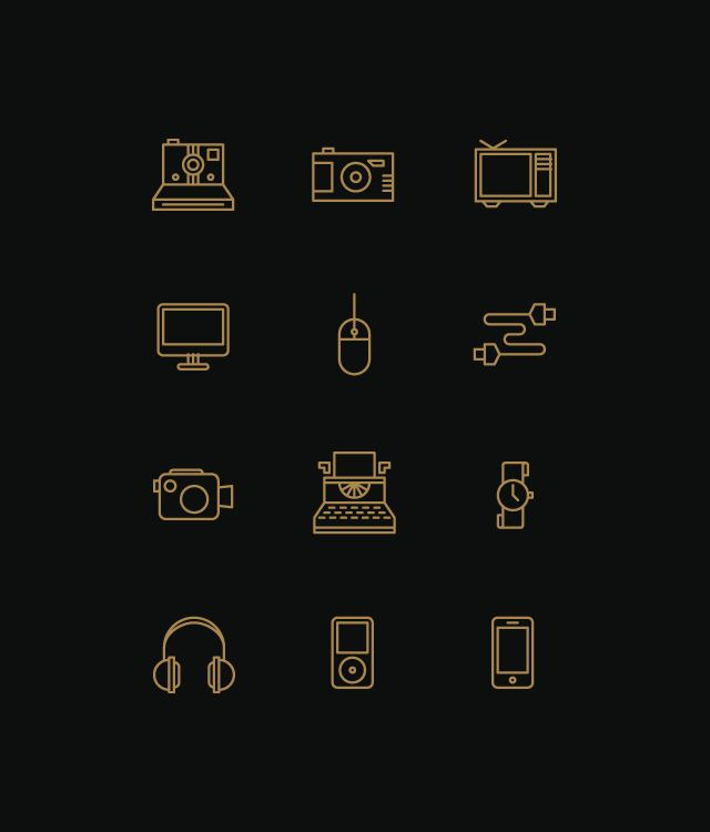 more simple icons