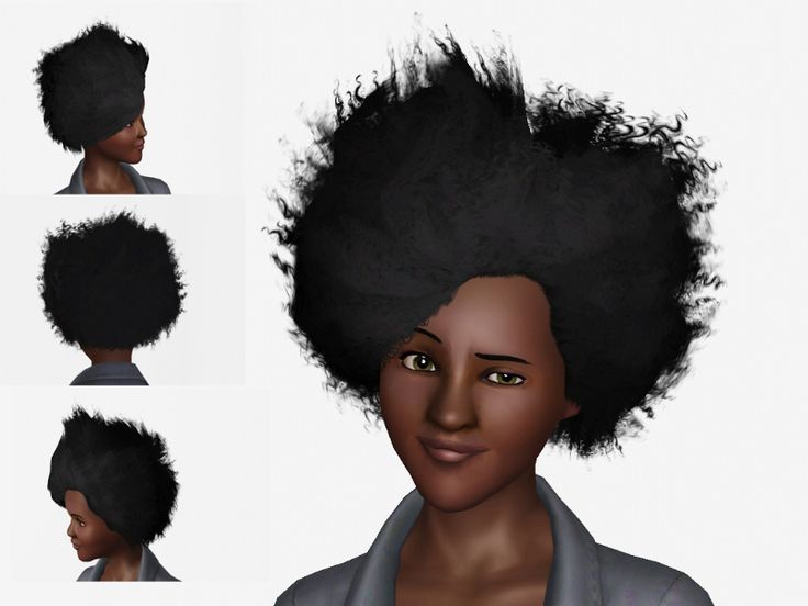 A male to female conversion of EA's Wild Fire hairstyle. Ages teen to elder.