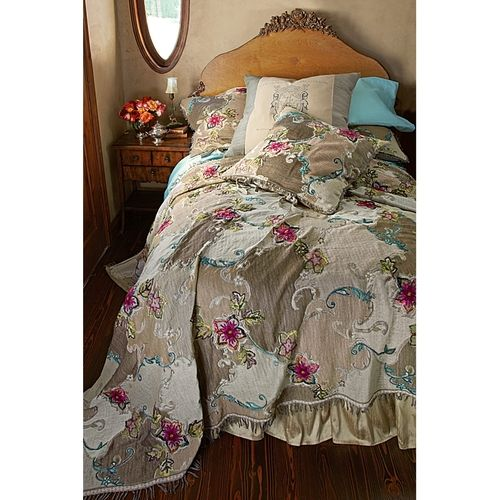 Mirabai Embroidered Coverlet from Soft Surroundings on Catalog Spree