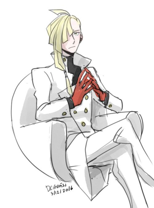 Adult Gladion : Office mode. ….because he might have to help maintaining his family business from time to time (I still think Lillie should be president though…./Let Gladion and his dog travel around the world and helping from the shadow.)