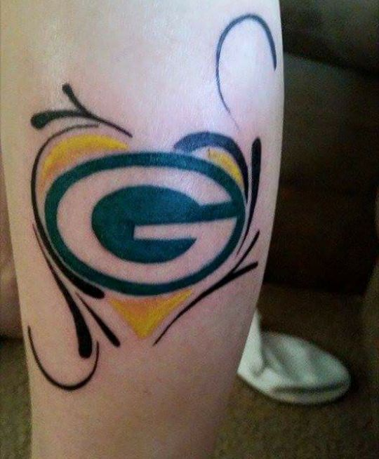 19 best green bay packers tattoo 39 s images on pinterest greenbay packers tattoo ideas and. Black Bedroom Furniture Sets. Home Design Ideas