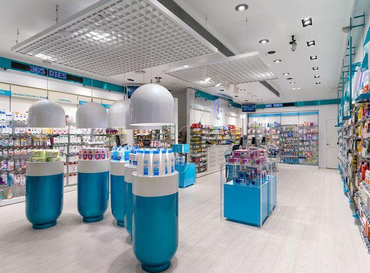 Farmácia Gárros | Lérida, Espanha | Fonte: Retail Design
