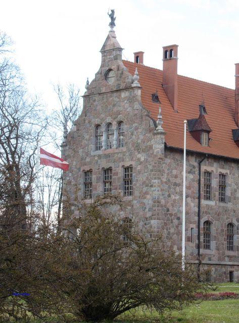 The castle of Cesvaine, Latvia