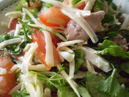 Салат из печени трески, рецепт салата из печени трески