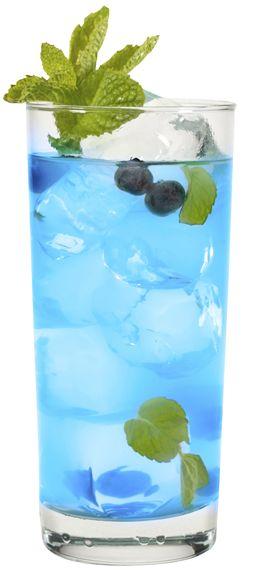 Blue Crush - 2 oz Hpnotiq, 1 oz. Blueberry Vodka, Lemonade.  Perfect for a summer day!