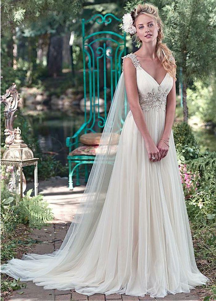 1001 Visions Chic Pour Votre Mariage Avec Une Robe Grecque Robe De Mariee Grecque Robe Grecque Robe De Mariee Decollete