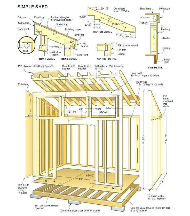 Perfect Free Wood Shed Plans Ideas Shed Design Plans In 2020 Wood Shed Plans Simple Shed Shed Blueprints