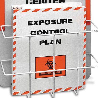 Bloodborne Pathogen Compliance Exposure Control Plan Binder Only 1 ea