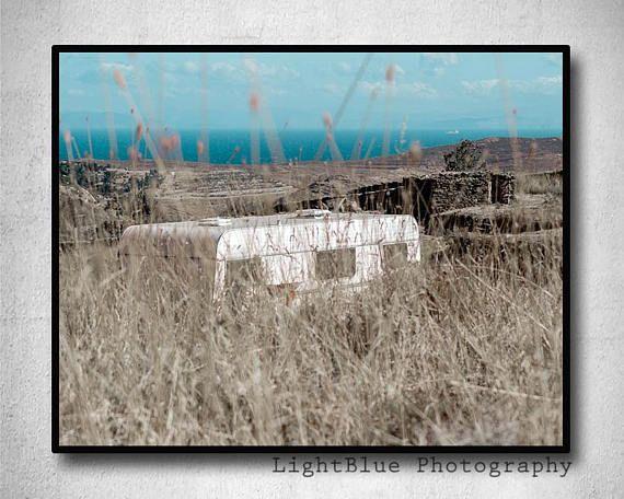 Landscape Photography Caravan Print Printable Greece