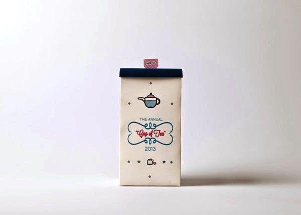 Contoh Desain Gambar Buku Laporan Tahunan - The Annual Cup Of Tea - Annual Report oleh Zaheer Randera