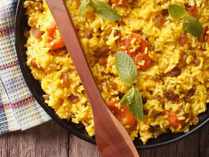 Pilaf de riz basmati brun