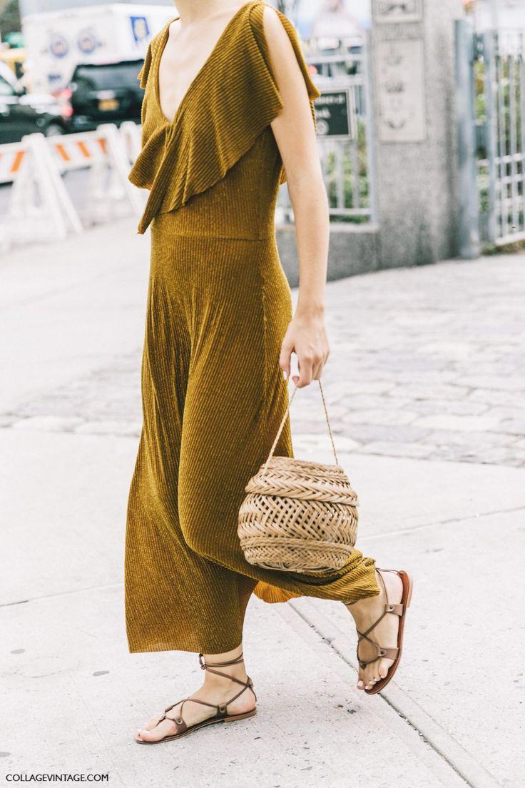 New York Fashion Week SS17, rattan basket