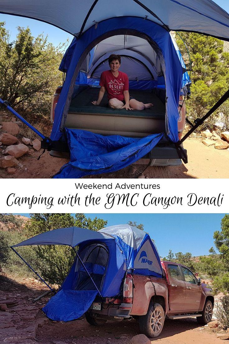 Weekend Adventures Camping With The Gmc Canyon Denali