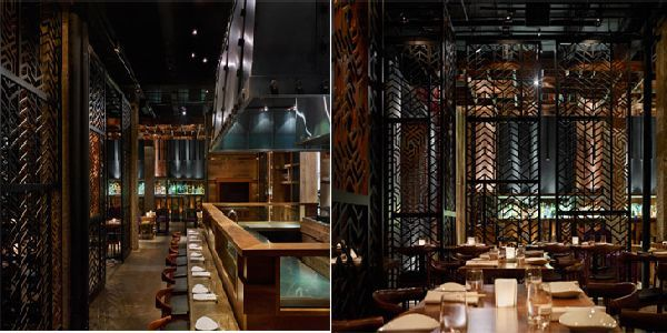 AME Restaurant Interior and Design with Japanese Styles