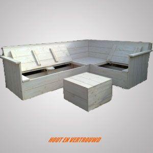 17 beste idee n over houten pallet bank op pinterest for Bouwtekening hoekbank