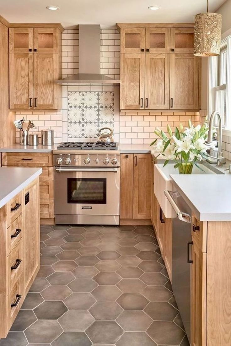 The Kitchen Cabinets Are The First Things That People Will Notice About Your Ki Farmhouse Kitchen Design Farmhouse Kitchen Backsplash Modern Farmhouse Kitchens