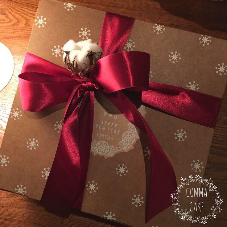 [콤마케익_COMMA CAKE] 크리스마스 선물상자 . giftbox